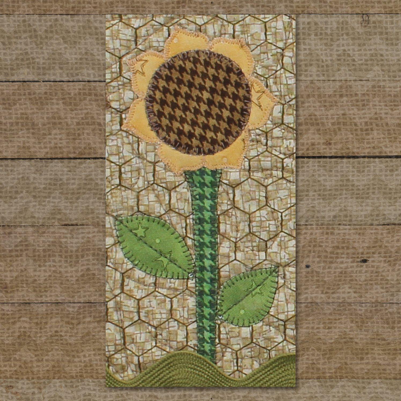 Sunflower Precut Fused Applique Kit
