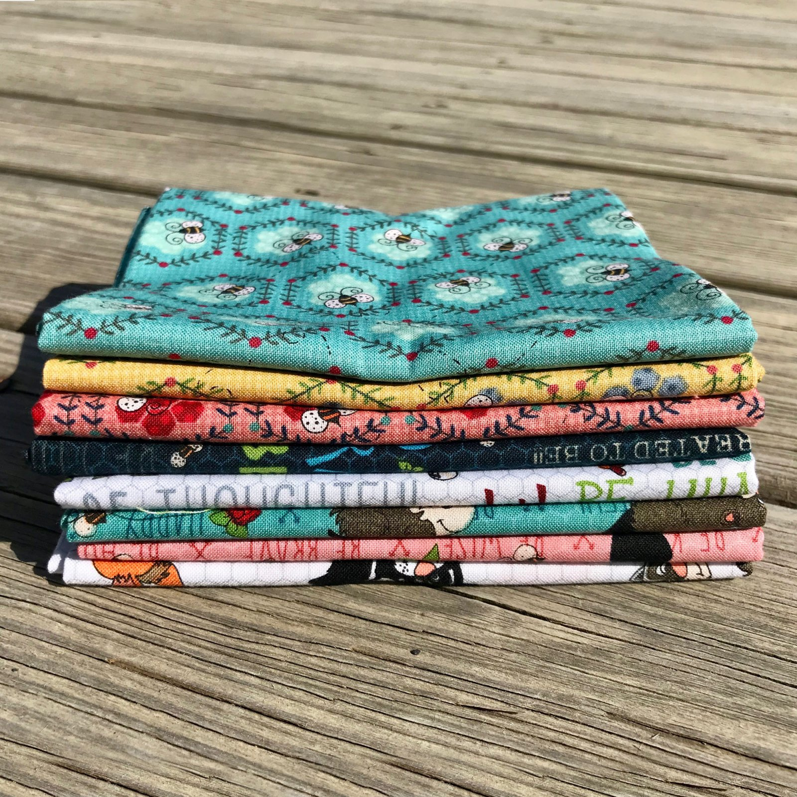 To Be or Not To Be Fat Quarter Bundle