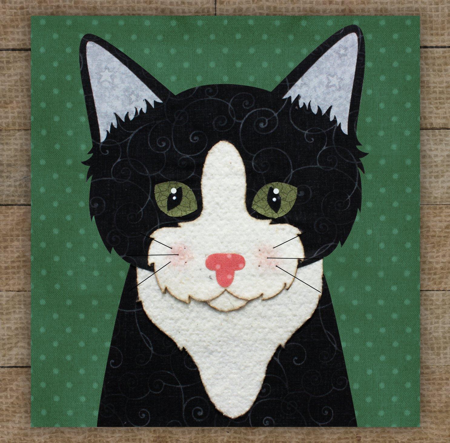 Tuxedo Cat 2 - Pattern