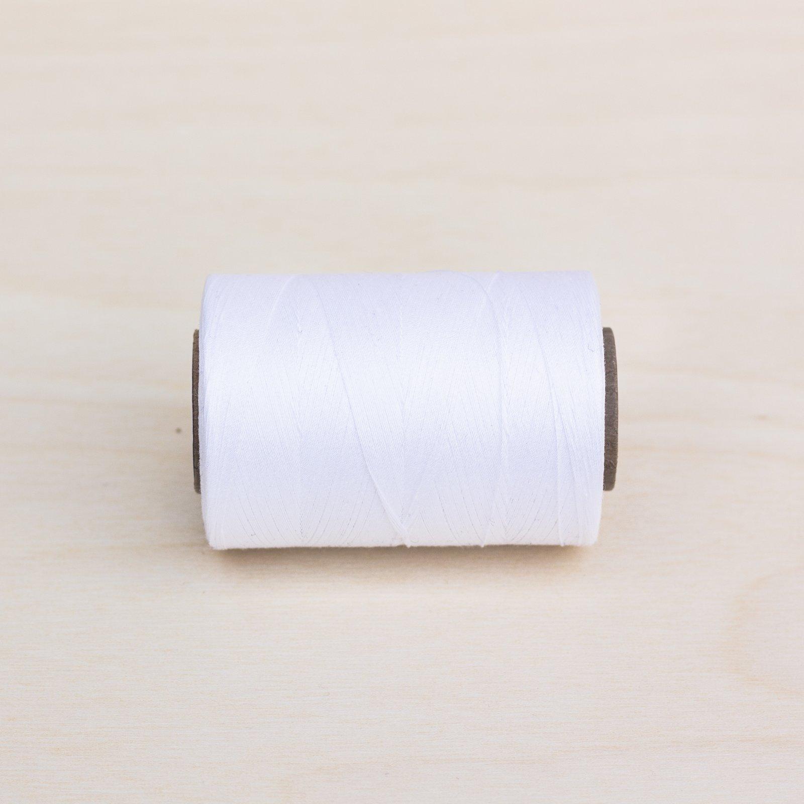 01 - White Quilting Thread 1200yd