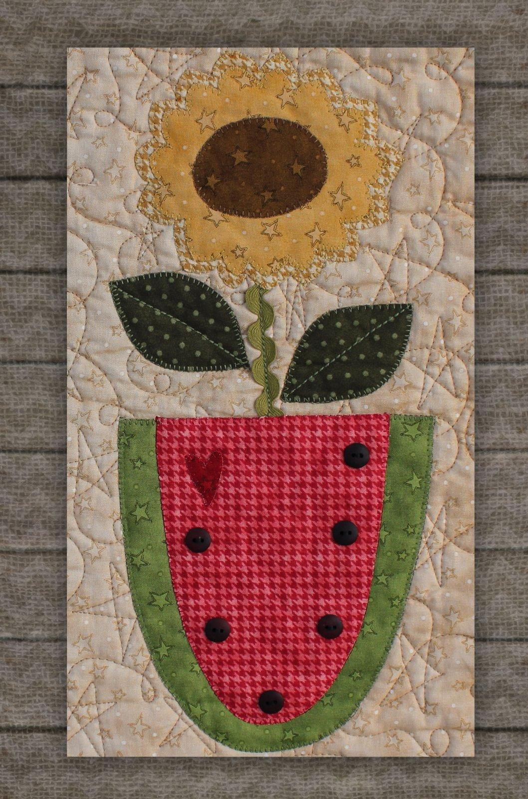 Watermelon -Precut Fused Applique Kit