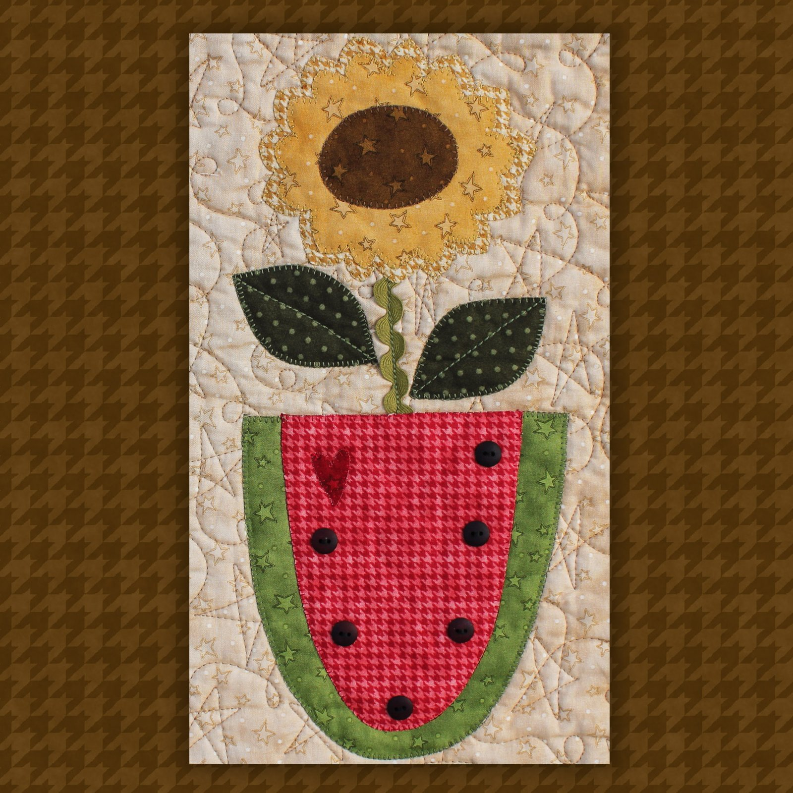 Watermelon Precut Fused Applique Kit