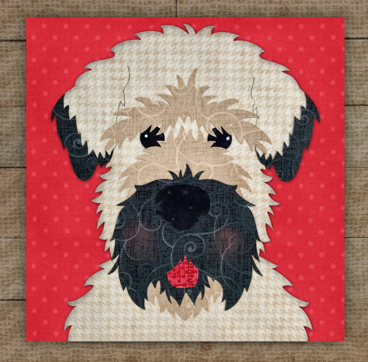 Wheaten Terrier - Pattern