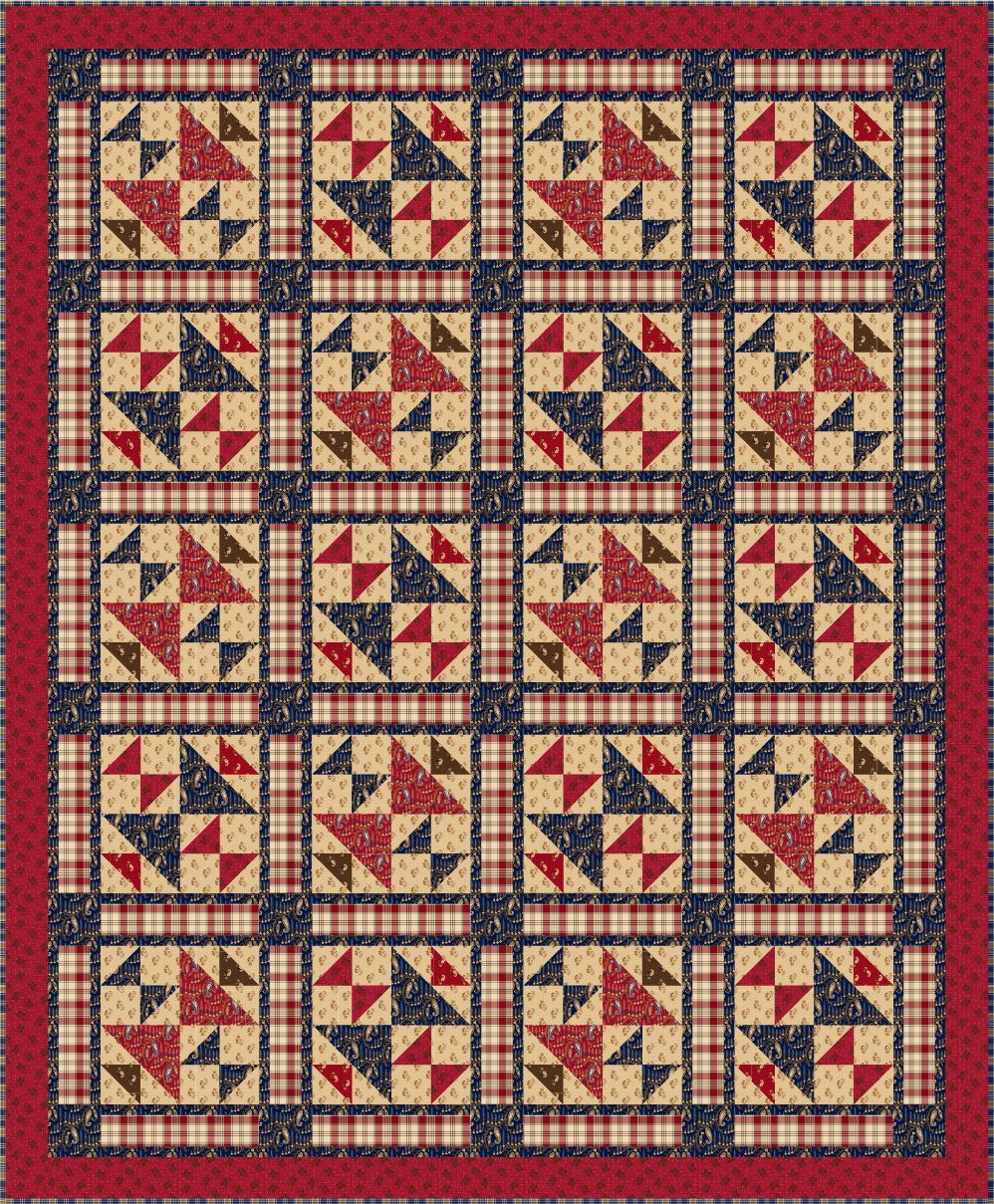 Whispers of Wisdom Pieced Quilt Kit