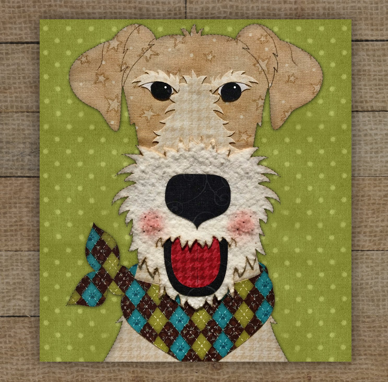 Wire Fox Terrier - Pattern