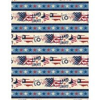 American Valor by Wilmington Prints 84427-243