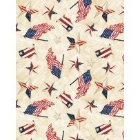 American Valor by Wilmington Prints 84430-231