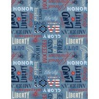 American Valor by Wilmington Prints 84431-430