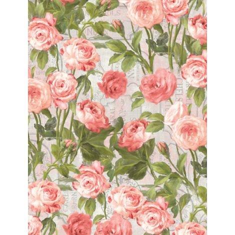 Flower Market by Wilmington Prints 89210-337