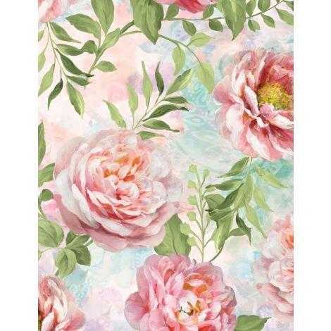 Wild Blush by Wilmington Prints 89218-337
