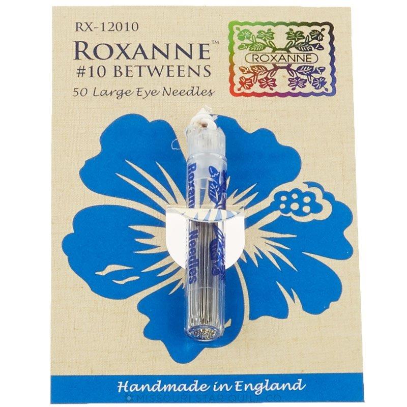 Roxanne Betweens 50 Large Eye Needles #10 101515