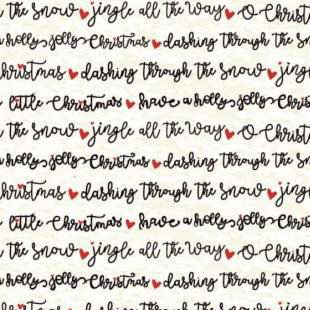 Christmas Travel by Amylee Weeks for Quilter's Palette 13857-WHITE