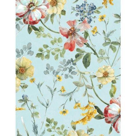 Sketchbook Garden by Wilmington Prints 86452-437