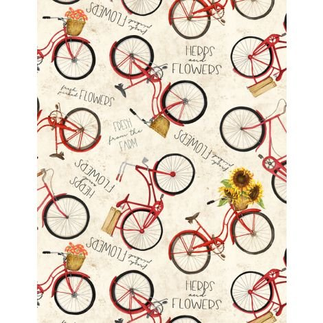 Country Road Fabric by Wilmington Prints 33840-235