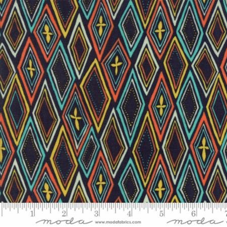 Midnight Garden by One Canoe Two for Moda Fabrics 36022-17