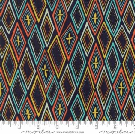 Midnight Garden by One Canoe Two for Moda Fabrics 36022-17