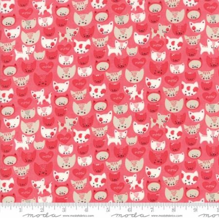 Woof Woof Meow by Stacy Iset Hsu for Moda Fabrics 20656-18