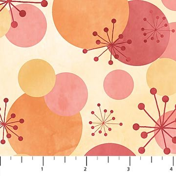 Cosmic Fusion Yardage Fabric by Sue Beevers for Northcott 21196 - 21