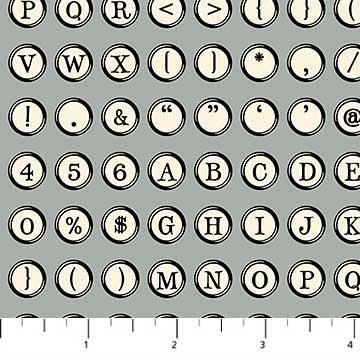 Letterpress by Northcott 21894-92