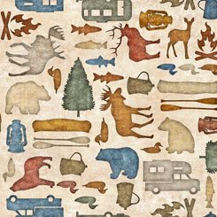 Backcountry by Quilting Treasures 26734-E