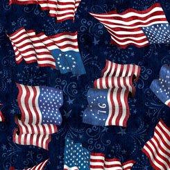 American Pride by Quilting Treasures 26975-N