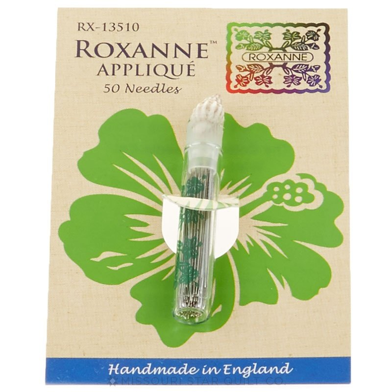 Roxanne Betweens 50 Large Eye Needles Applique 101216