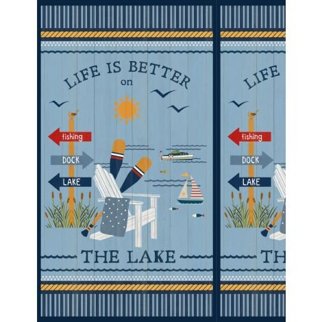 Lake Life by Wilmington Prints 68499-458