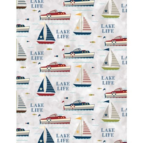 Lake Life by Wilmington Prints 68501-934