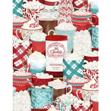 Cuppa Cocoa by Wilmington Prints 27572-341