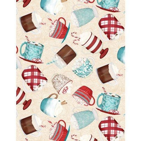 Cuppa Cocoa by Wilmington Prints 27573-134