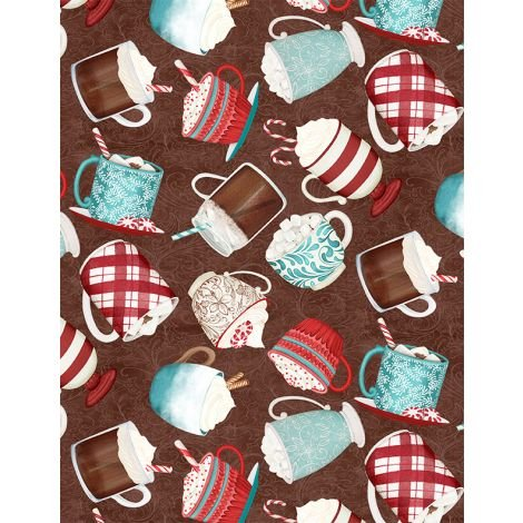 Cuppa Cocoa by Wilmington Prints 27573-234