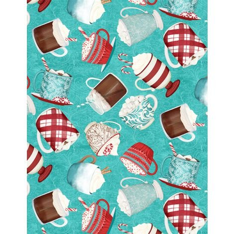 Cuppa Cocoa by Wilmington Prints 27573-434