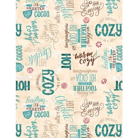 Cuppa Cocoa by Wilmington Prints 27575-142