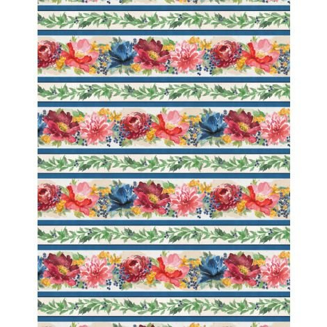Garden Charm by Wilmington Prints 83302-413