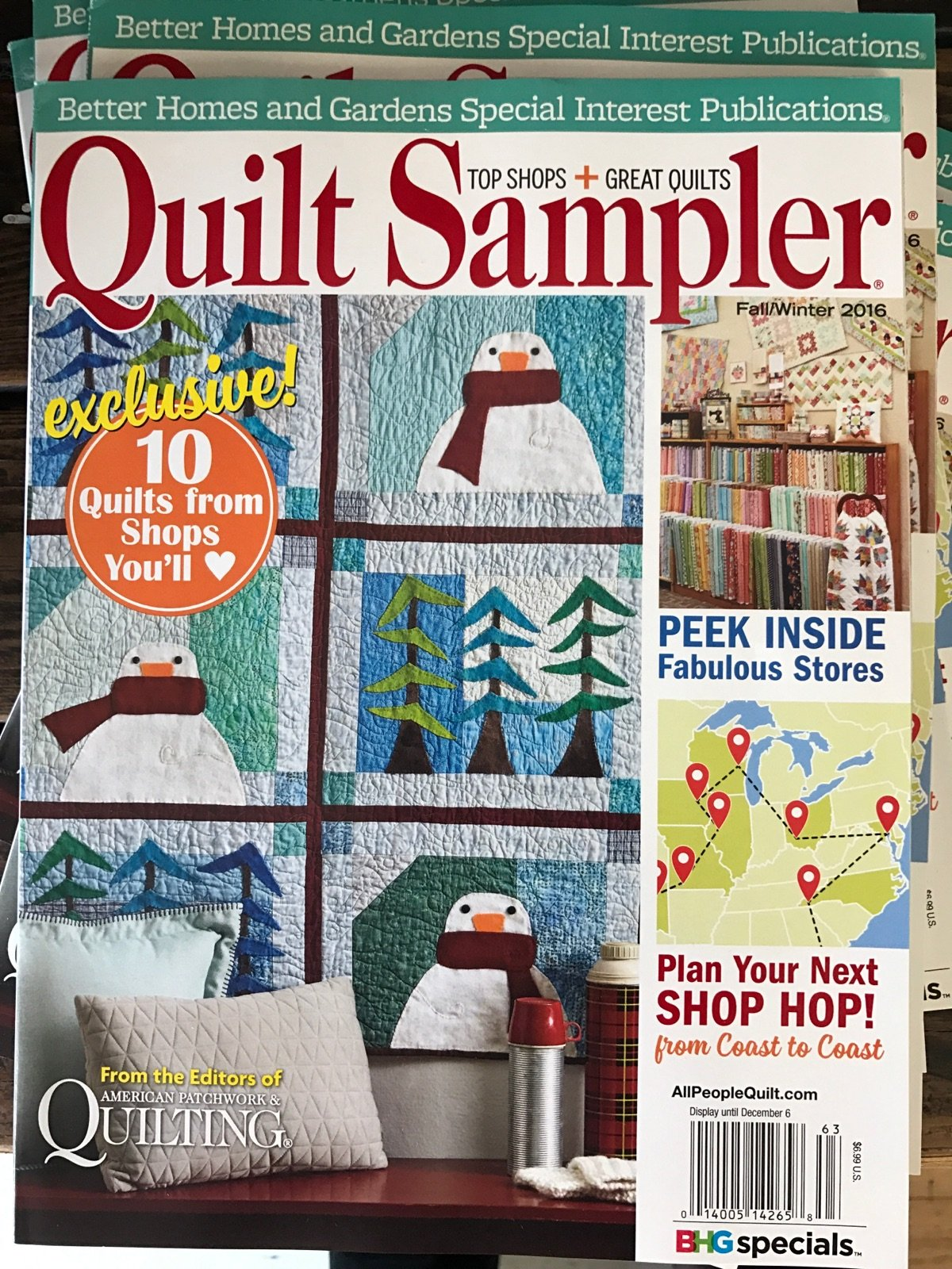 The Quilt Sampler Magazine
