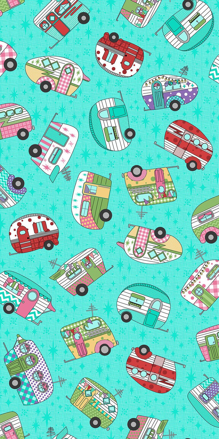 Retro Road Trip by RJR Fabrics 3619-1