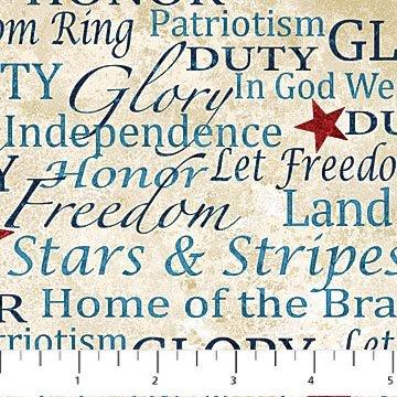 Stars & Stripes by Northcott Fabrics 22195-30