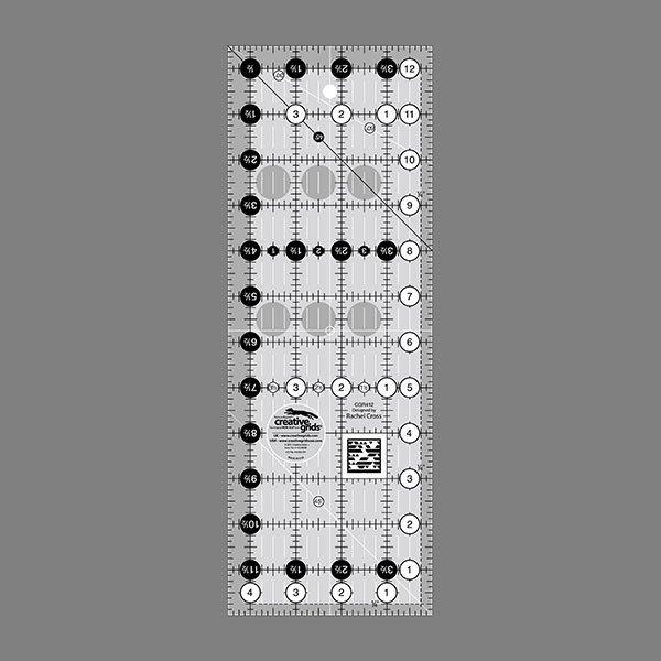 Creative Grids Non-Slip 4.5 x 12.5 Ruler