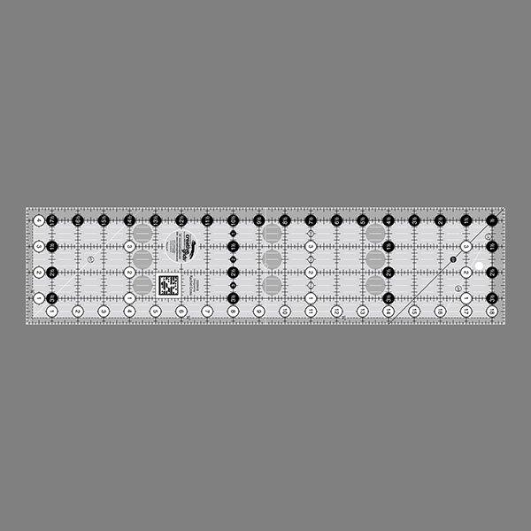 Creative Grids Non-Slip 4.5 x 18.5 Ruler