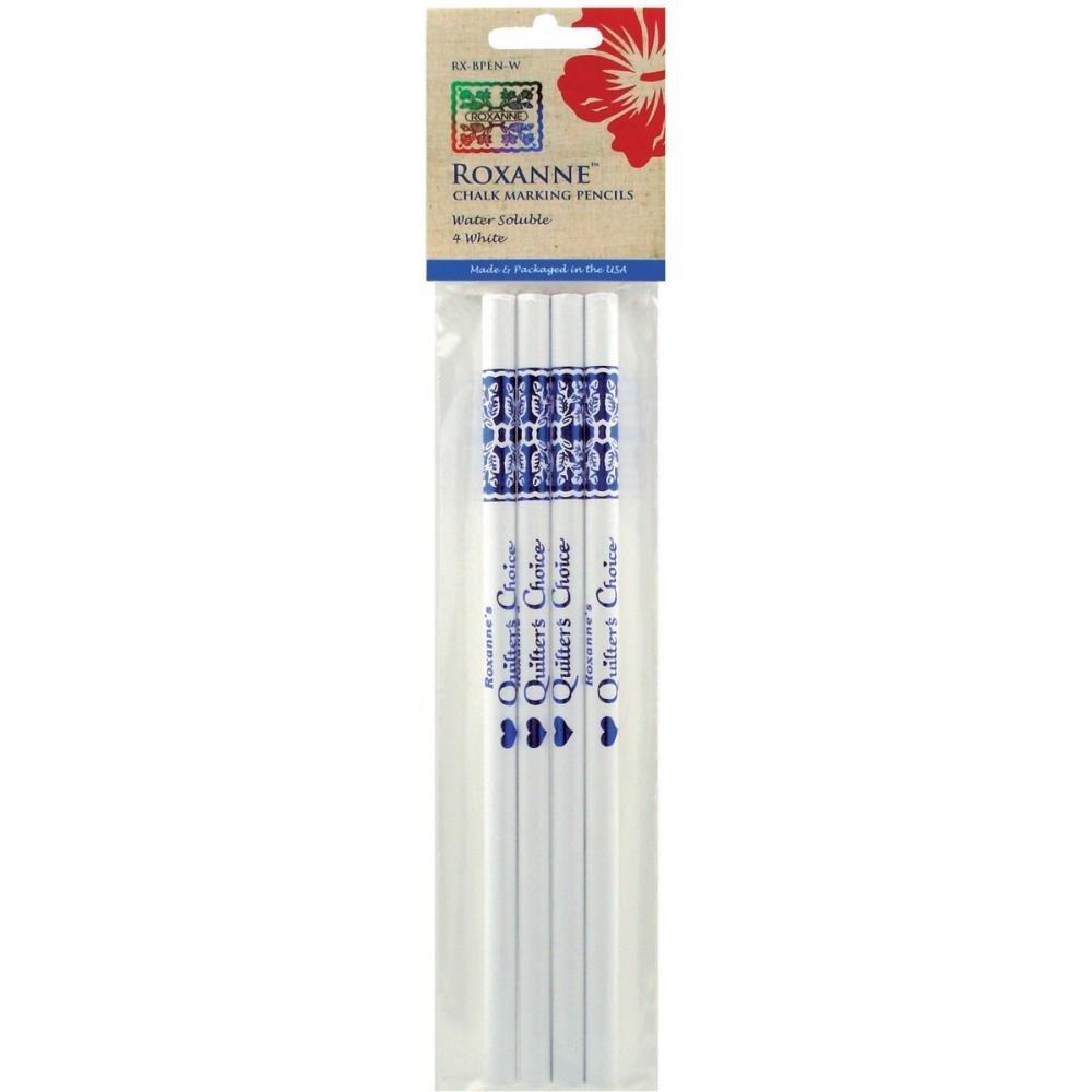 Roxanne Chalk Marking Pencils 4 White
