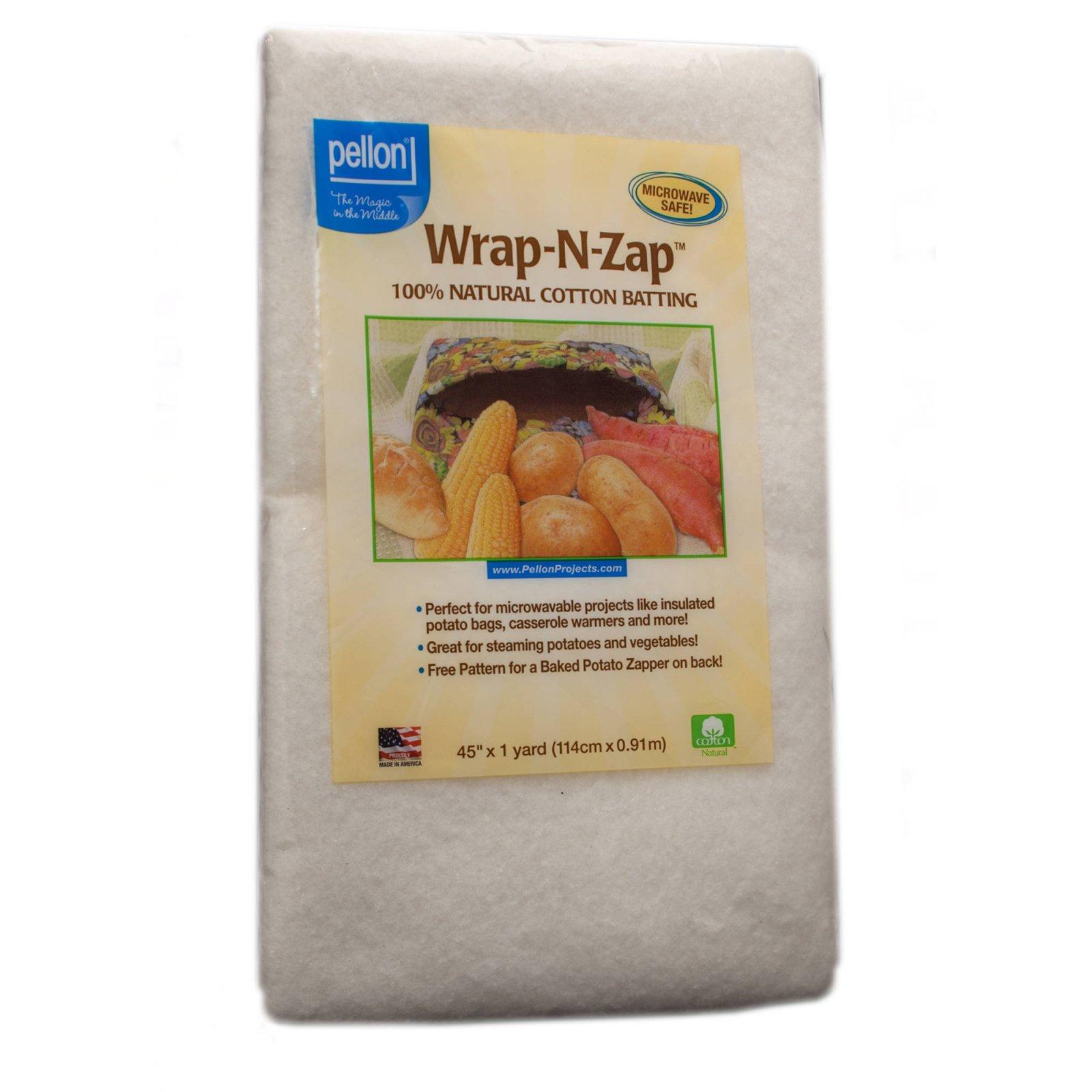 Wrap-N-Zap 100% Natural Cotton Batting