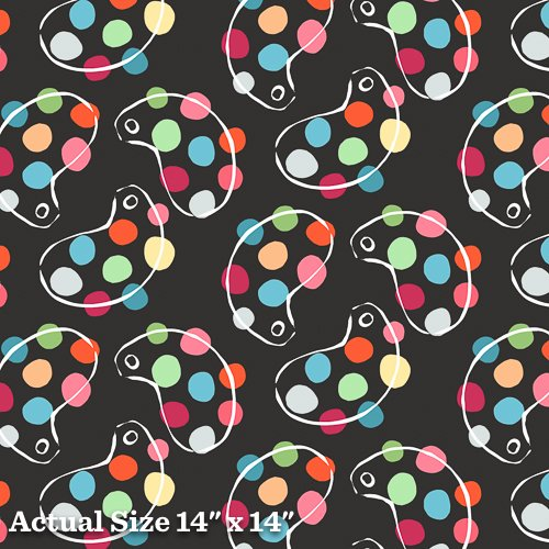 An American In Paris Yardage Fabric for Andover Fabric 8267 - K