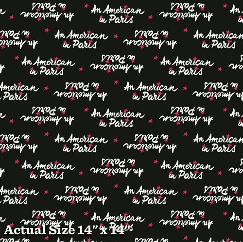 An American In Paris Yardage Fabric for Andover Fabric 8271 - K