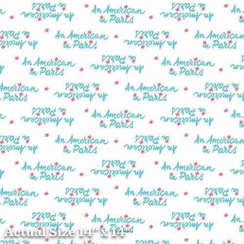 An American In Paris Yardage Fabric for Andover Fabric 8271 - X