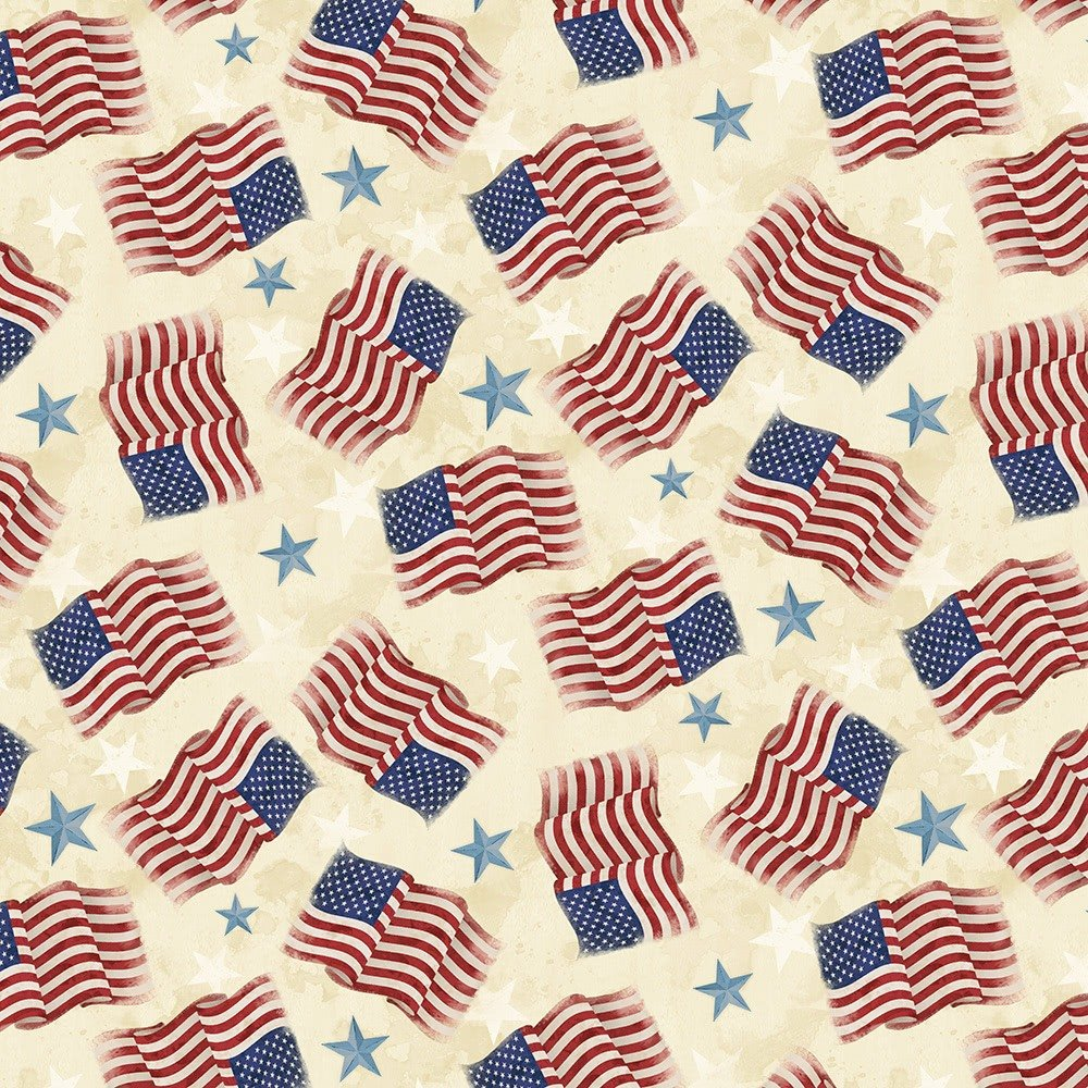America My Home by Wilmington Prints 82596-234
