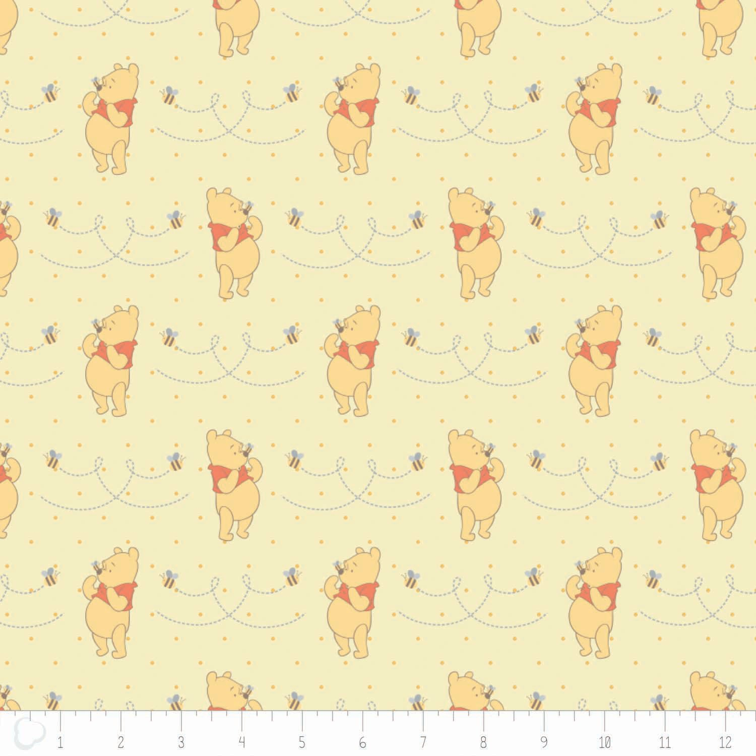 Winnie the Pooh & Friends Yardage Fabric by Camelot Design Studio - Disney for Camelot Fabric 85430105 - 3