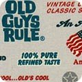 Old Guys Rule by Robert Kaufman Fabrics 17530-184 CHARCOAL