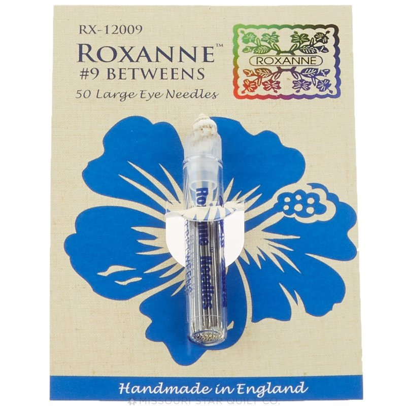 Roxanne Betweens 50 Large Eye Needles #9 021816