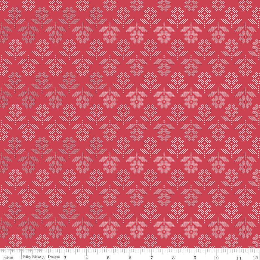 STITCH C10932-CAYENNE
