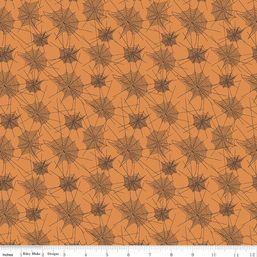 Trick or Treat by Penny Rose Fabrics C5992-ORANGE